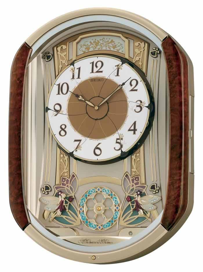 Melodies In Motion Dancing Fairies Musical Wall Clock