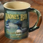 Welcome to the Looney Bin – Loons Sculpted Coffee Mug