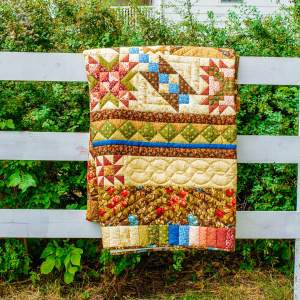 Amish and Mennonite Made Quilts - Storyteller's Sampler