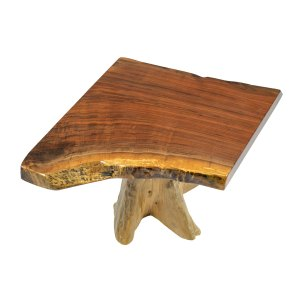 Coffee Table (Single Stump Walnut)