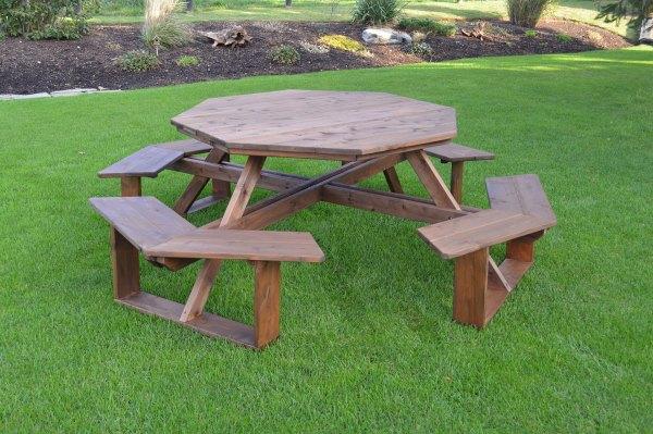 54″ Octagon Walk-In Table