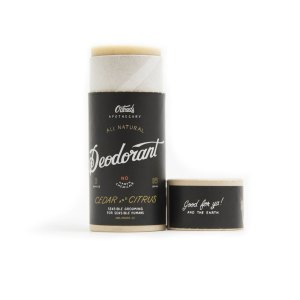 O'Douds All Natural Deodorant - Cedar & Citrus