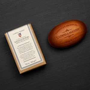 Heritage Woodgrain Sandalwood Bar Soap