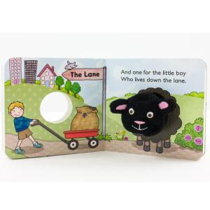 Baa Baa Black Sheep Chunky Book by House of Marbles