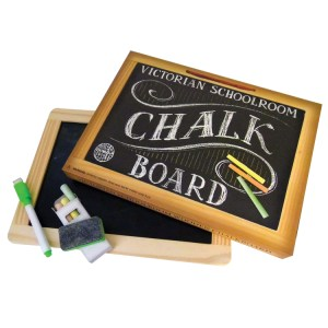 Chalk Board Set by House of Marbles