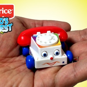 World's Smallest Fisher Price Chatter Telephone by Super Impulse