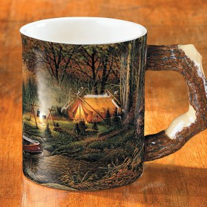Evening Solitude Sculpted Coffee Mug