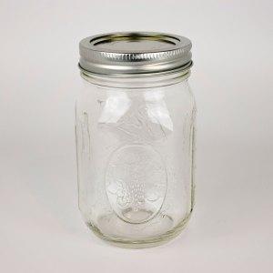 Ball Canning Jars 1 dozen Regular Mouth Pint