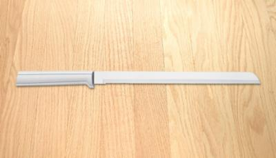10″ Bread Knife Silver