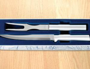 Carving Set Silver