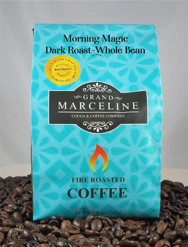 Grand Marceline Morning Magic Dark Roast Whole Bean Coffee