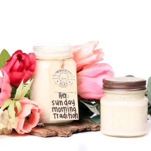 Whiskey Boat Goods Candle - Her Sunday Morning Tradition