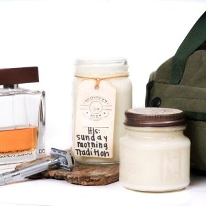 Whiskey Boat Goods Candle - His Sunday Morning Tradition