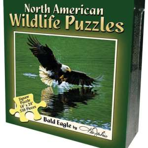 North American Wildlife Jigsaw Puzzle - Bald Eagle
