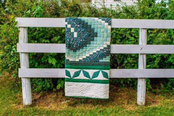 Amish and Mennonite Made Quilts – Bargello Heart