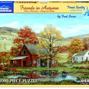 Friends in Autumn Puzzle
