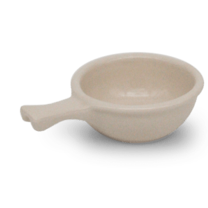 Ohio Stoneware  Handled Soup Bowl
