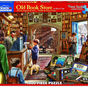 Old Book Store Puzzle