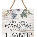 The Best Memories String Sign