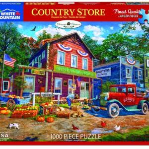 White Mountain Puzzle - Country Store