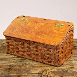 Small Bread Basket Brown