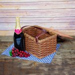 Lunch Box Basket Brown