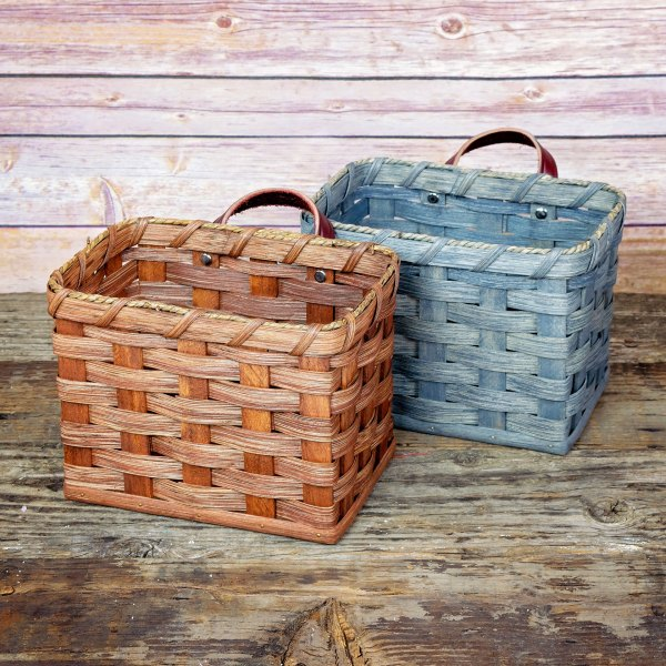 Large Mail Basket Brown