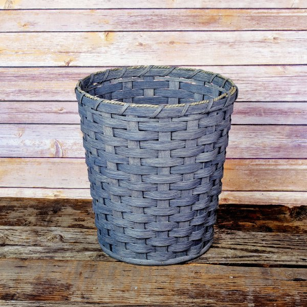 Medium Round Waste Basket Gray