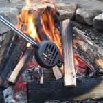 cast iron hamburger iron