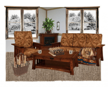 Choose Cozy Living Room Furniture - Timber Table