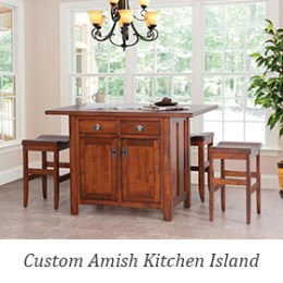 Design Your Own Amish-made Kitchen Island