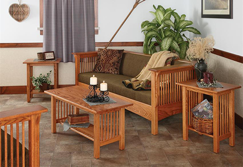 DutchCrafters Amish Sofas and Loveseats