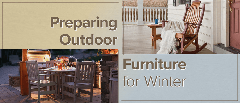 How To Store Your Outdoor Furniture For The Winter