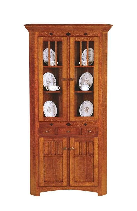 ... Amish Royal Mission Corner Hutch