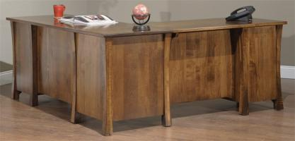 Amish Mission Credenza with Optional Hutch