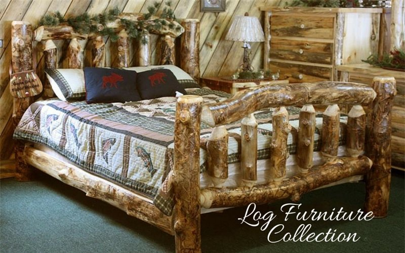 Amish Log Furniture Collection