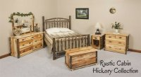 Rustic Cabin Hickory Furniture Collection