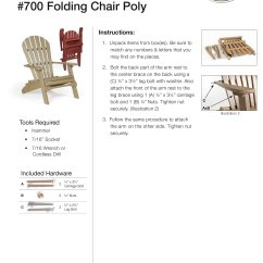 Amish Folding Adirondack Chair Plans Hanging Poly Chairs From Dutchcrafters Furniture How To Instructions Assembling The
