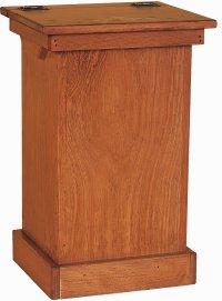 Wooden Kitchen Trash Bins - Home Design