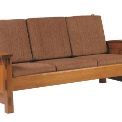 Shaker Style Sofa Plans Air Bed For Rv Jake S Amish Furniture 5000 Urban