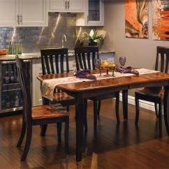 Kitchen Table And Chair Set Delta Bronze Faucet Shop The Look - Amish Canterbury Dining Room