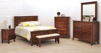 Carlisle Shaker Bedroom Set | Dutch Craft Furniture