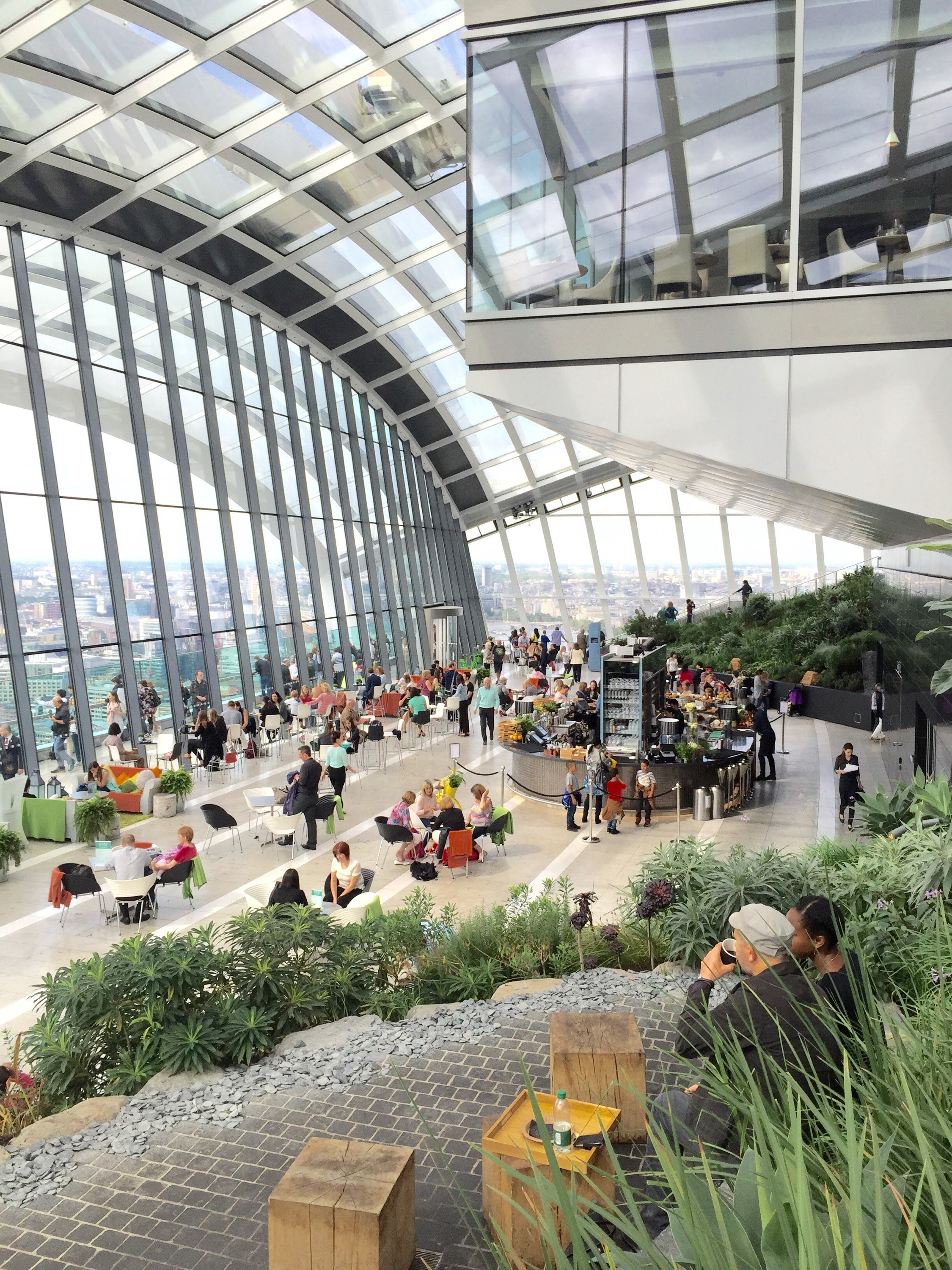 Sky Garden Walk: London With Toddlers