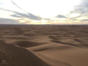 The Sahara Sunset