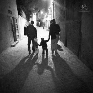 Walking Home in the Medina