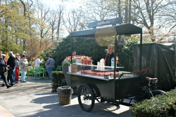 Food Stalls at Keukenhof