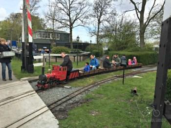 Ride the Model Railroad at Zuiderpark