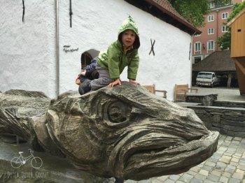 Bergen Fish Statue