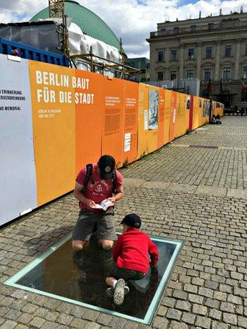 Berlin Burned Books Memorial