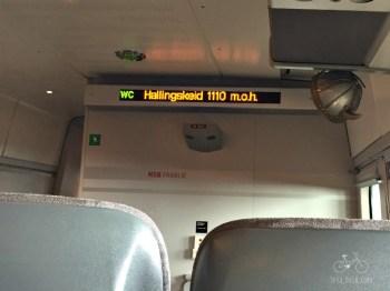 High Point on Bergen Train